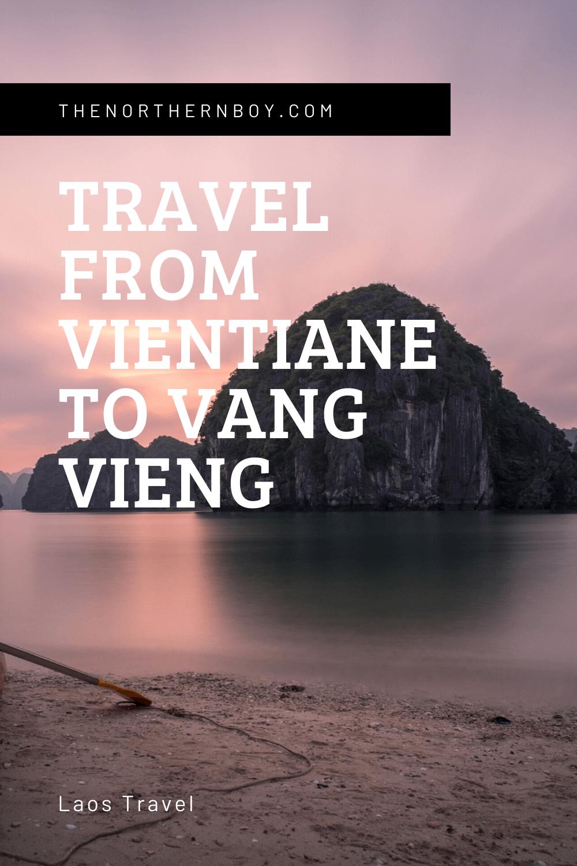 Vientiane To Vang Vieng van