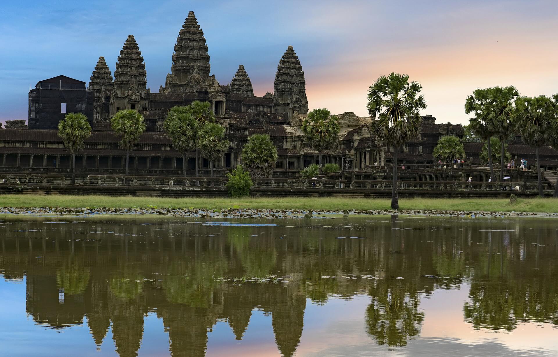 Phenom Penh to Siem Reap flight