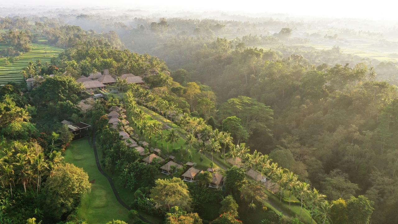 the amazing Maya Ubud spa