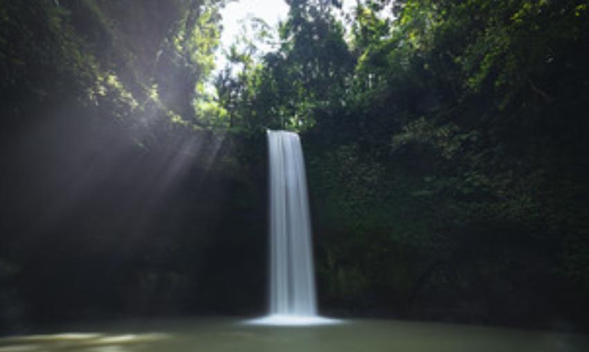 Tibumana waterfall in Ubud