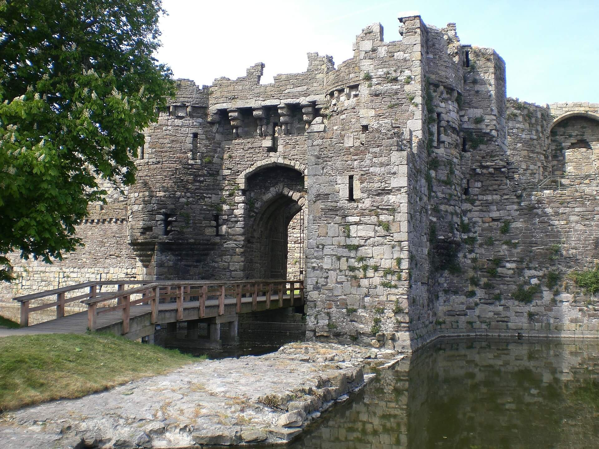 Beaumaris Castle anglesey castle of castles