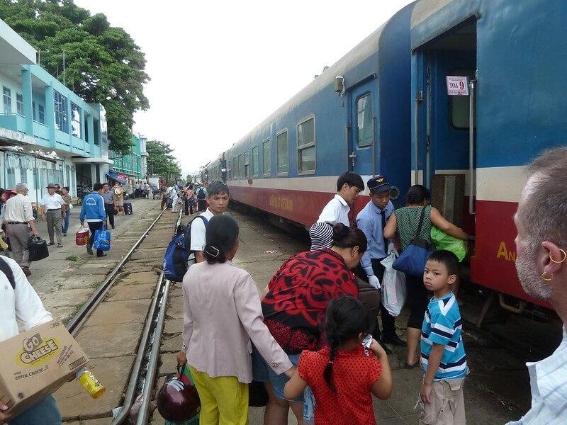 Hue From Da Nang train