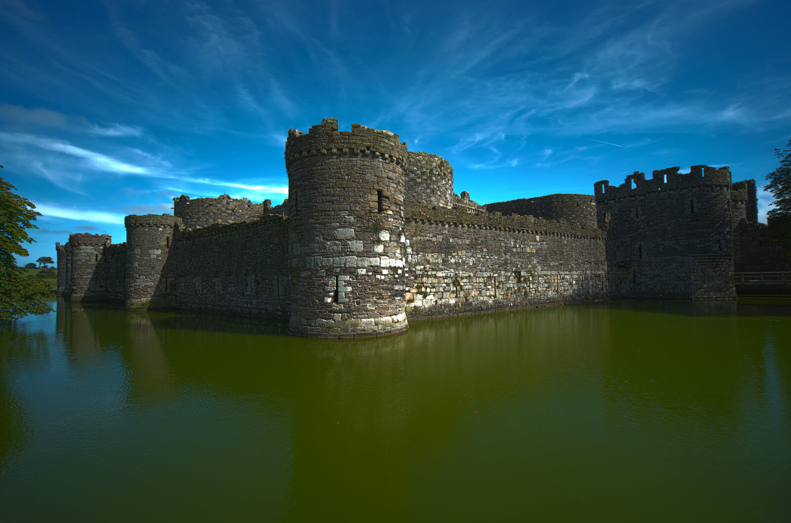 Beaumaris Castle facts