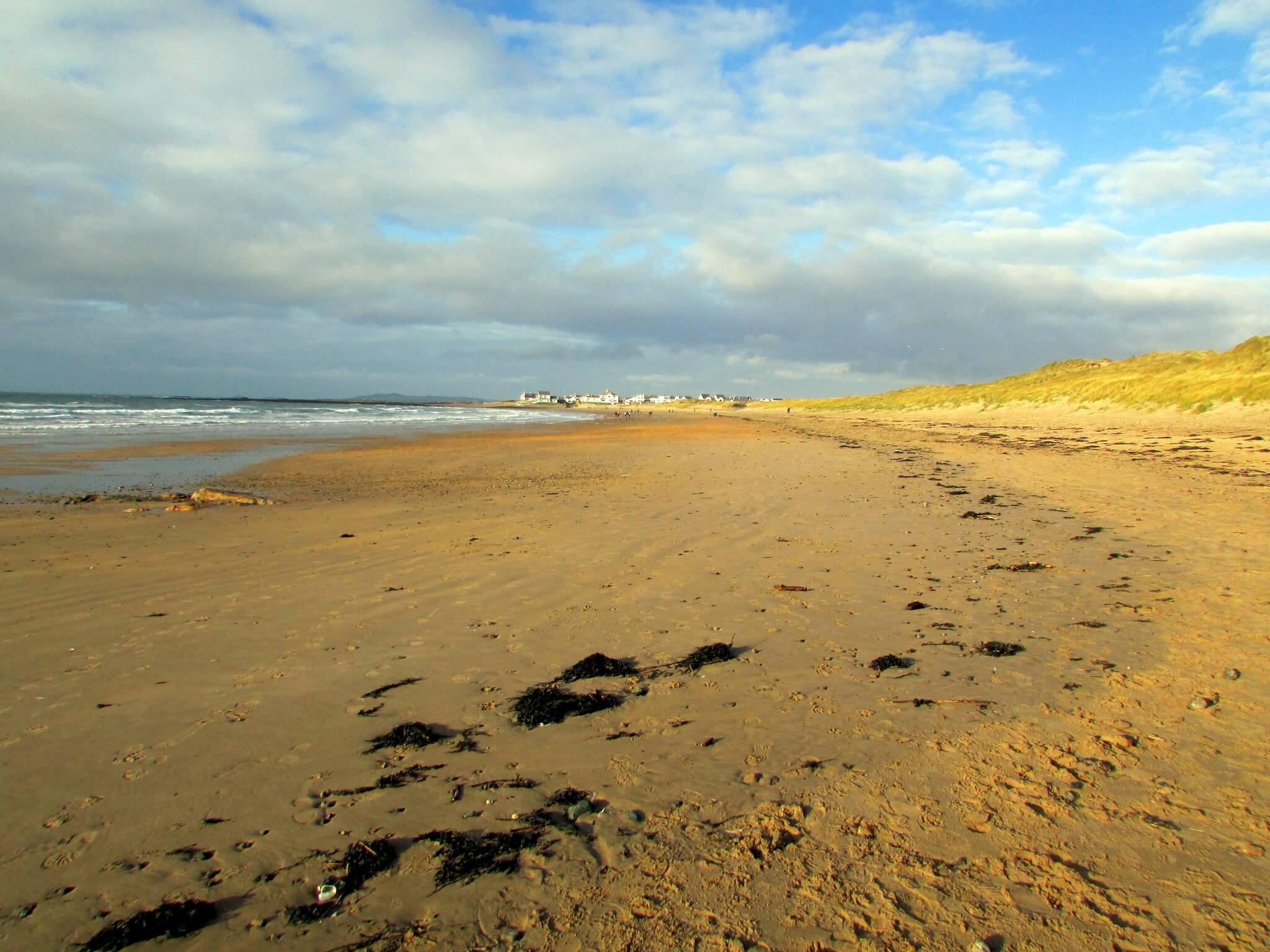 Rhosneigr Beach In Wales