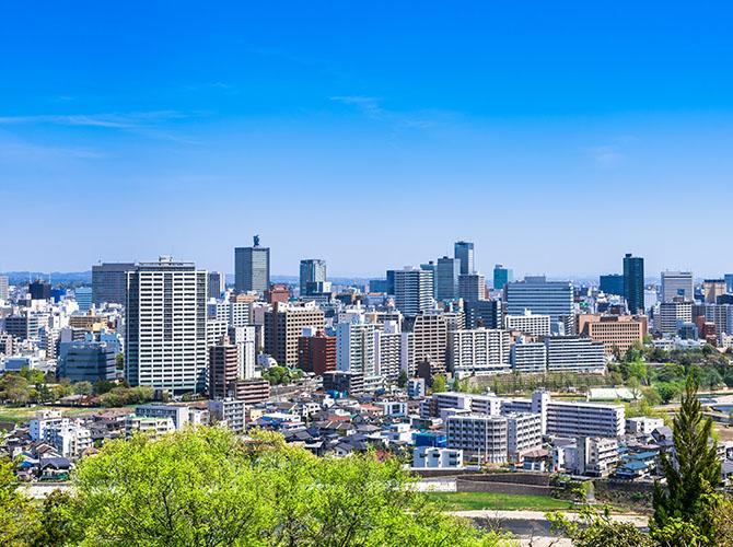 Sendai in Japan