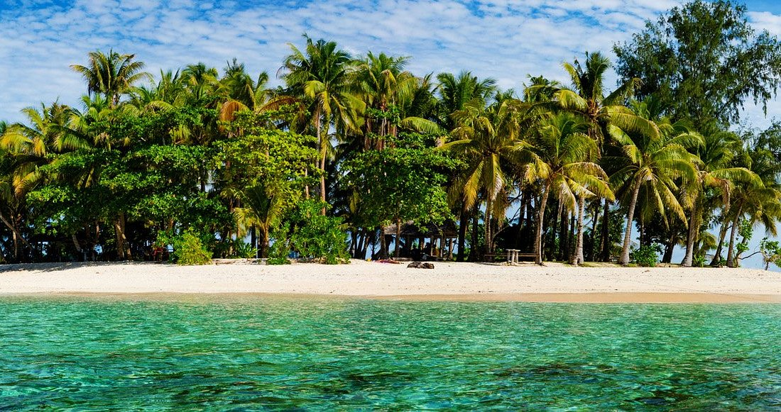 Siargao Island in the Philippines