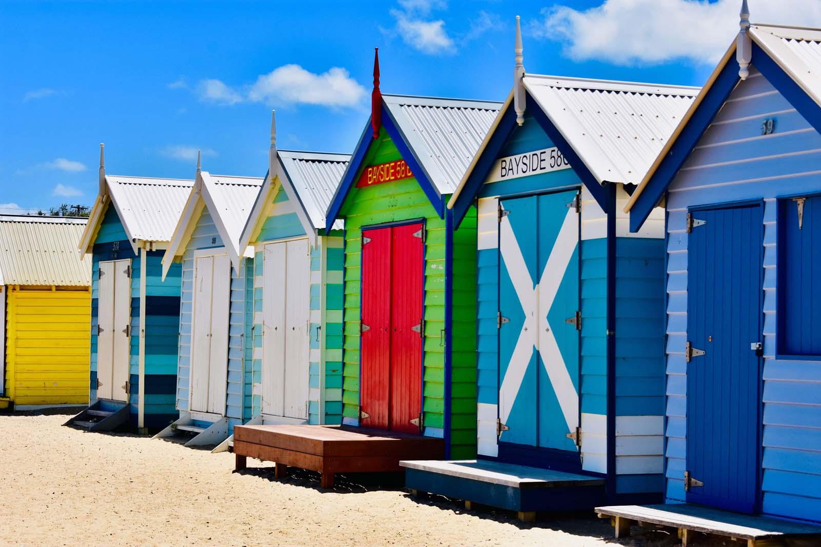 brighton beach, brighton beach melbourne, brighton beach boxes, brighton bathing boxes, beaches in melbourne, brighton beach huts