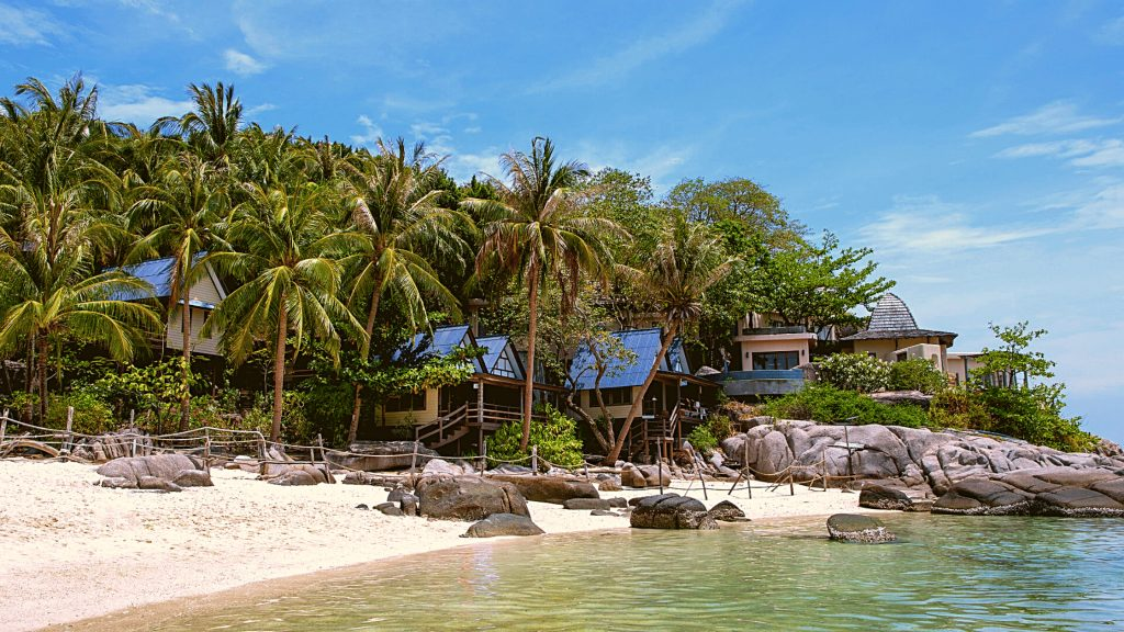 koh nang yuan hotels and places to stay on the island